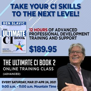 Advanced CI Training for Teachers